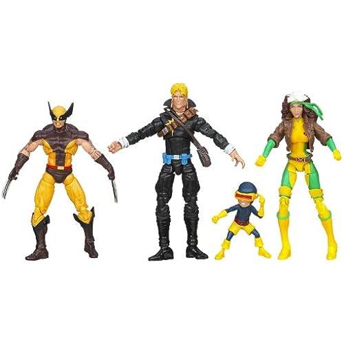 Marvel Universe Super Hero Teams The Uncanny X-Men Action Figure Box Set [병행수입품]-