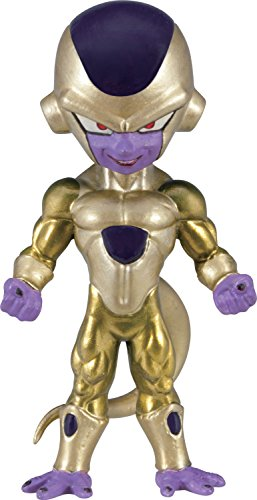 Banpresto Dragon Ball Z 2.8-Inch Golden Frieza Movie World Collectable Figure, Volume 2
