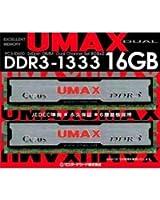UMAX DDR3-1333(8GB*2) Dual Set  Cetus DCDDR3-16GB-1333