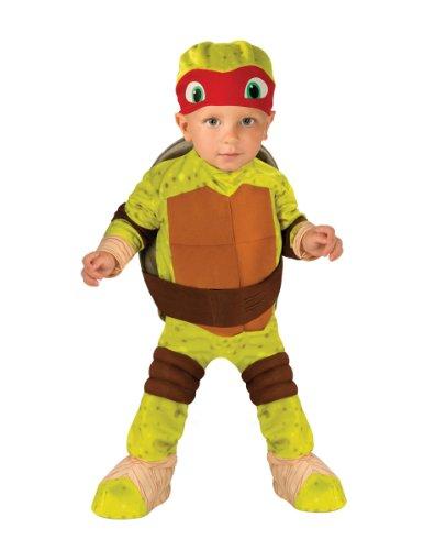 Teenage Mutant Ninja Turtle Raphael Toddler Costume 2-4t Halloween Costume