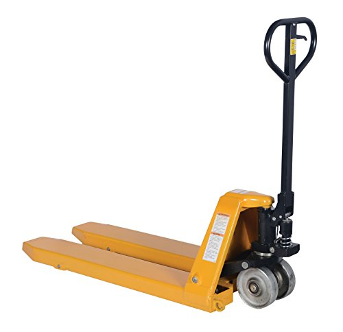 Tracked Pallet Jack: Vestil PM10-2245 Full Featured Pallet Truck With Steel