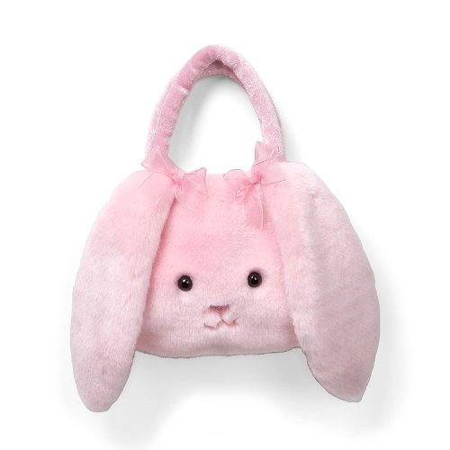 """Enesco Easter Pink 9"""" Bunny Purse front-908390"""