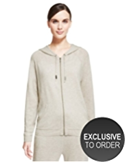 Autograph Pure Cashmere Hooded Cardigan