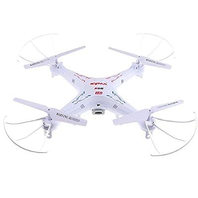 Syma 2.4Ghz 4ch 6 Axis Gyro RC Quadcopter Drone with HD Camera RTF