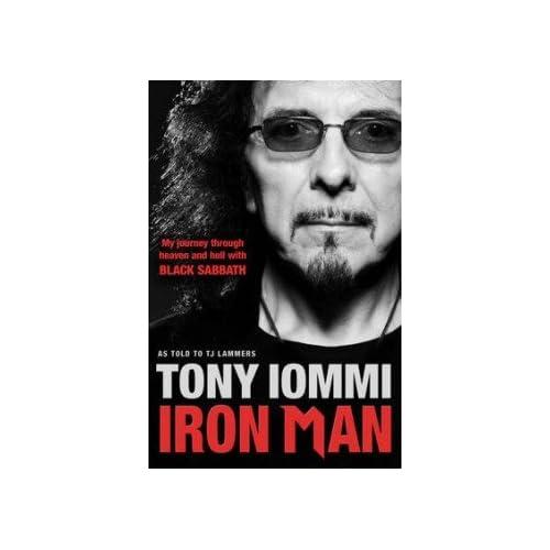 Iron Man Tony Iommi Books
