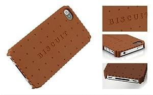 Coque biscuit Chocolat pour Iphone 4/4S ,plusieurs parfums disponibles