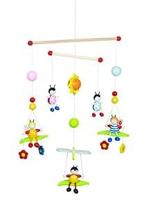 Goki 52954 - 3-D Mobile Bienen und Käfer