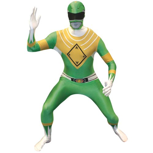 Morphsuits Men's Power Rangers Morphsuit, Green, Large
