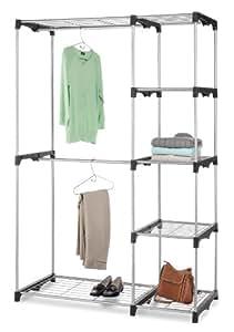 Whitmor  6779-3044  Double Rod Closet, Silver