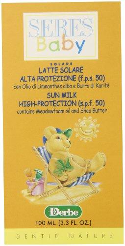 Baby Derbe Baby Sunscreen SPF 50, 3.4 Ounce - 1