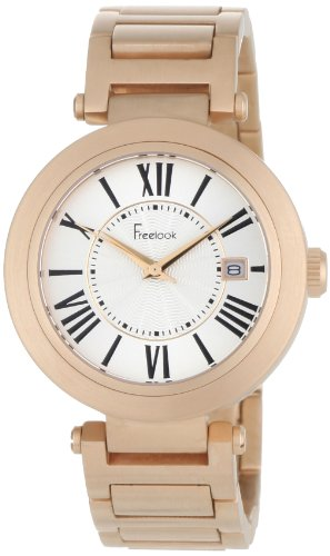 Freelook Women's HA1234RG-9A Cortina Roman Numeral Matte Rose Gold  Watch