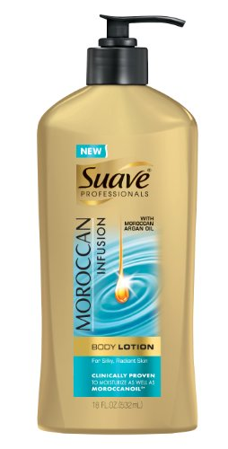 Suave Professionals Hand and Body Lotion, Moroccan Infusion 18 oz