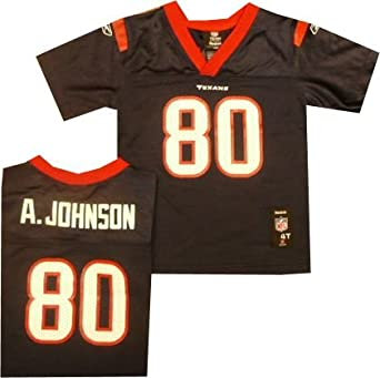 Houston Texans Andre Johnson Reebok Toddler Jersey by Reebok