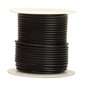 Coleman Cable 10-100-11 Primary Wire, 10-Gauge 100-Feet Bulk Spool, Black