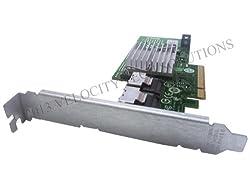Dell U039M Perc H200 PCI-E Raid Controller in Full Height Bracket