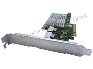 Dell U039M Perc H200 PCI-E Raid Controller in Full Height Bracket