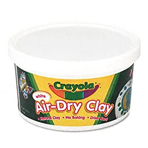Crayola Air Dry Clay great for Preschool Age