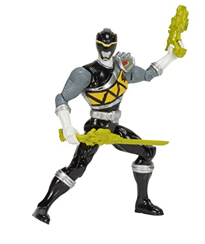 "Power Rangers Dino Charge - 5"" Black Ranger Action Hero - 1"