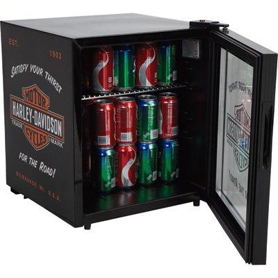 Harley-Davidson Nostalgic Bar & Shield Refrigerator - Truly Refreshing