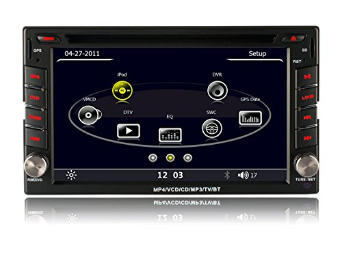 Volsmart 2 Din Car Stereo DVD GPS Bluetooth with Capacitive Touch Screen (Fm Para Auto compare prices)