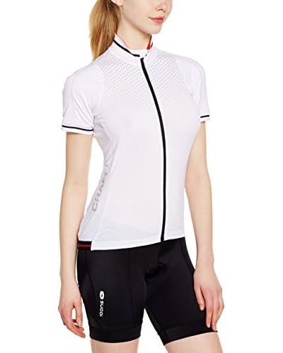 Craft Fahrradshirt weiß/schwarz/rot