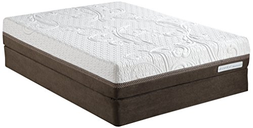 Luxury Home Icomfort Direction Ultra Plush Epic Memory Foam Mattress Set By Serta, King