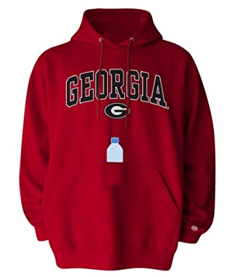 NCAA Georgia Bulldogs Mens SIPS Hooded Sweat Shirt by Old Varsity