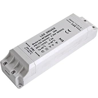 Trasformatore 30w per lampade faretto smd led striscia for Alimentatori per led