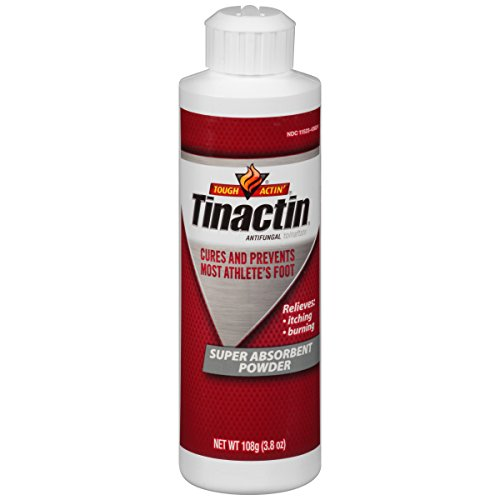 Tinactin Super Absorbent Antifungal Powder, 3.8-Ounce Bottles (Pack of 3) (Super Absorbent compare prices)