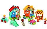 ELC Happyland Village Play Set Toy Shop Bakery Florist + 7 Figures New 140014
