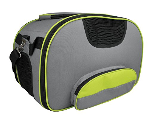 Airline Approved Soft Sided Pet Carrier for Small to Medium Sized Pets 18L X 12W X 11H