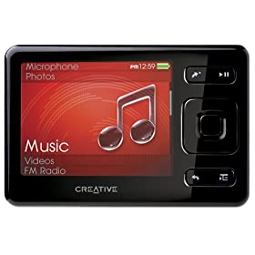 Creative Zen 8 GB Portable Media Player (Black)