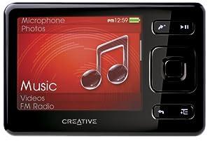 Creative Zen 8 GB Portable Media Player (Black)