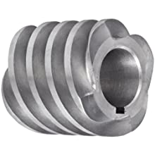 "Boston Gear D1618KRH Worm Gear, 14.5 Degree Pressure Angle, 0.750"" Bore, 10 Pitch, 1.25 PD, RH"