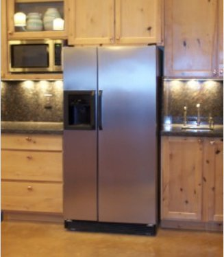 Dishwasher/Refrigerator SATIN Stainless Steel Faux Film compliments your current appliances. (Bosch Frigidaire Kenmore LG Whirlpool Kitchen Aid and more.) Do mismatched appliances drive you NUTS? (Refrigerator Dishes compare prices)