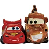 2.75 inch Lightning McQueen And Mater Cars Salt And Pepper Shakers