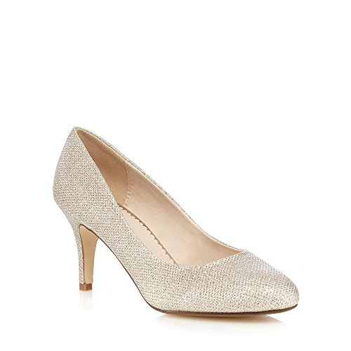 debut-womens-light-gold-sparkly-textured-heels-5