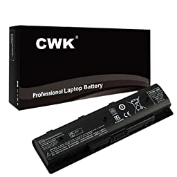 CWK® New Replacement Laptop Notebook Battery for HP Envy P106 HSTNN-DB4N TPN-Q117 Q119 Q120 Q121 PI06XL PI09 QUAD 15 15T-J000 QUAD 15T-J100 P106 HSTNN-LB4N from 15-J053CL 15-j PN 709988-421 710416-001 H6L38AAABB HSTNN-DB4N HSTNN-LB4N HSTNN-LB4O HP Envy 1
