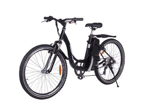 X-Treme Xb-305Sla Ladies Step Through Electric Mountain Bicycle (Black Color)