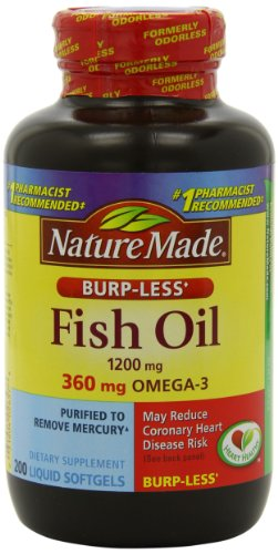 Top best 5 fish oil burpless for sale 2016 product for Fish oil for sale
