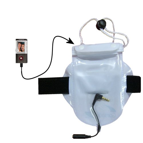 Click to buy Watertight Workout Bag for Protecting the Creative MuVo Vidz from Water Dust and Sand - From only $19.55