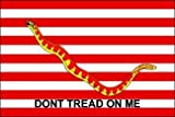 3 x 5 Feet 1st Navy Jack Poly - outdoor Historical Flags Made in US.