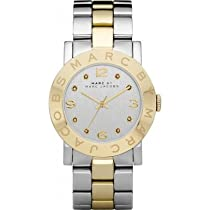 Marc by Marc Jacobs MBM3139 Ladies Silver Gold Amy Watch