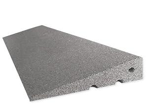RO-FLEX Bordsteinkanten-Rampe 75 mm aus Gummifasern (grau)