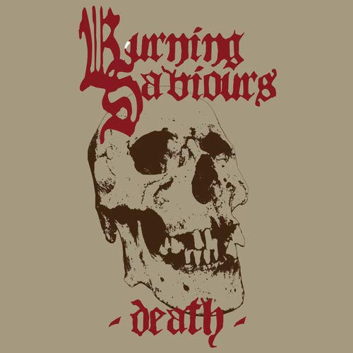 Vinilo : BURNING SAVIOURS - Death (red Vinyl)