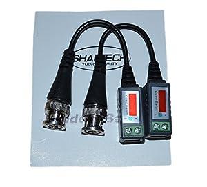 6 PAIRS (12 Pcs) Mini CCTV BNC Video Balun Best Price