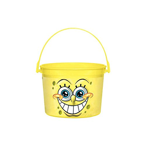 Amscan BB269531 SpongeBob Favor Container -Each
