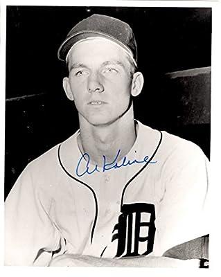 Autographed Al Kaline 8x10 Detroit Tigers Photo
