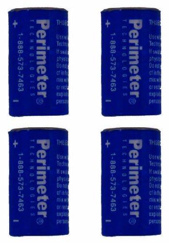 Four Pack Perimeter Pet Fencing Dog Collar Batteries