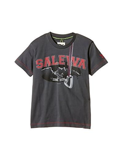 Salewa Camiseta Manga Corta Gris